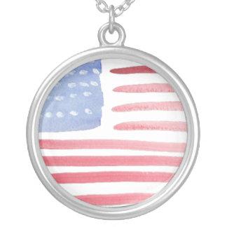 Americans USA Flag Custom Jewelry