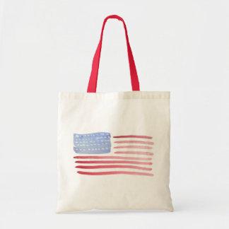 Americans USA Flag Tote Bag