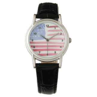Americans USA Flag Wristwatch