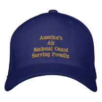 America's Air National Guard. Embroidered Baseball Hat
