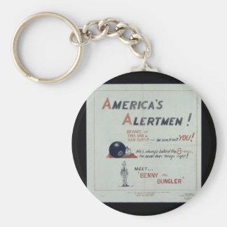 America's_Alertmen...Meet_Propaganda Poster Keychain