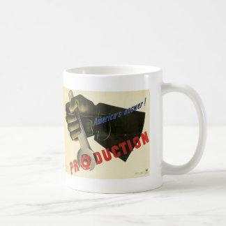 America's Answer! Production Coffee Mug