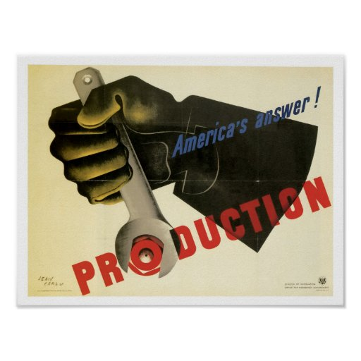 America's Answer! Production Poster