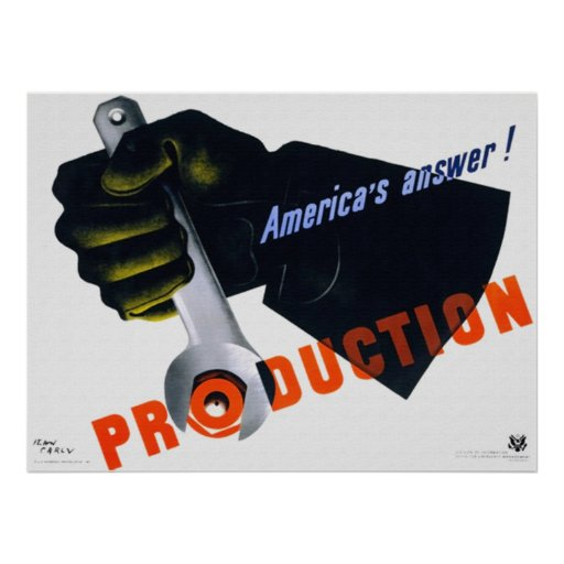America's Answer - Production Poster