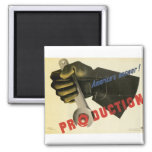America's Answer! Production Refrigerator Magnet