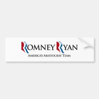 AMERICA'S ARISTOCRAT TEAM -.png Bumper Sticker