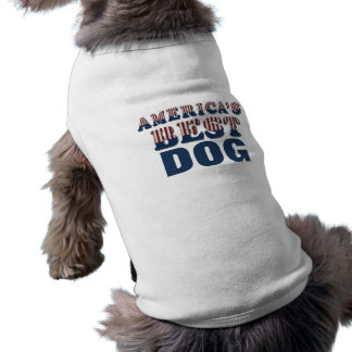America's Best Dog Patriotic Shirt
