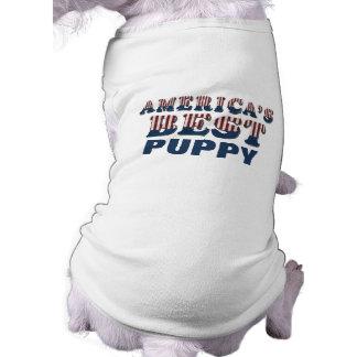 America's Best Puppy Patriotic Shirt