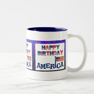 America's Birthday Mug