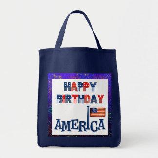 America's Birthday Tote Bag