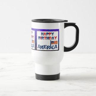 America's Birthday Travel Mug