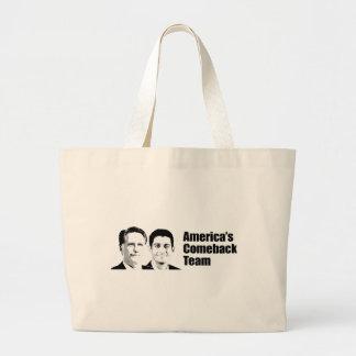 AMERICA'S COMEBACK TEAM -.png Canvas Bag