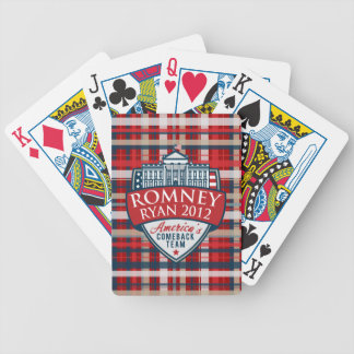 America's Comeback Team Rommey Ryan Playing Cards