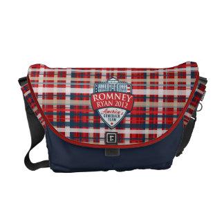 America's Comeback Team Romney-Ryan 2012 Courier Bag
