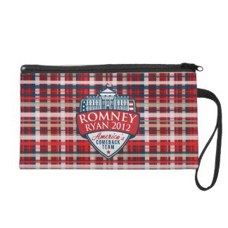 Americas Comeback Team Romney-Ryan Wristlet