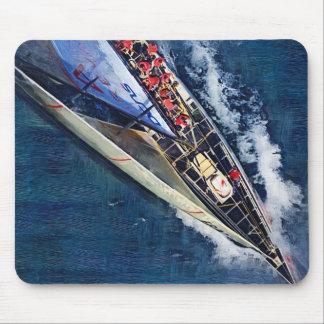 America's cup 2007 ,valencia, Spain , sailing, boa Mouse Pad