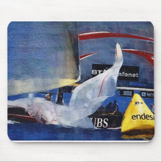America's Cup, Valencia Spain 2007 Mouse Pad