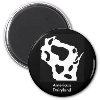 America's Dairyland Refrigerator Magnets
