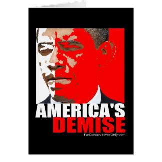America's Demise Card
