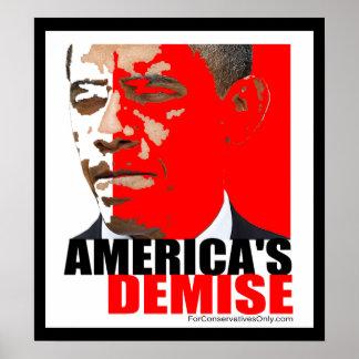 """America's Demise"" Poster"