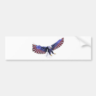 America's eagle bumper sticker
