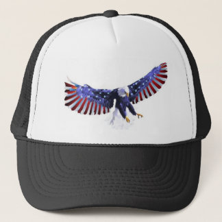 America's eagle trucker hat