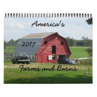 America's Farms and Barns Calendar 2014