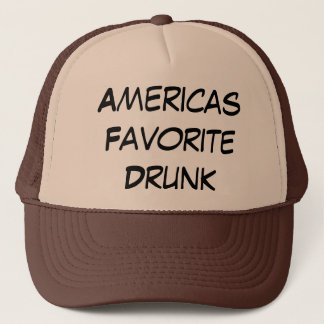Americas Favorite Drunk Trucker Hat