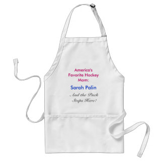 America's Favorite Hockey Mom:, Sarah Palin, An... Adult Apron