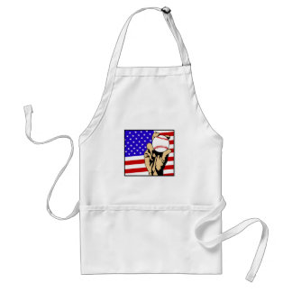 America's Favorite Pastime Adult Apron