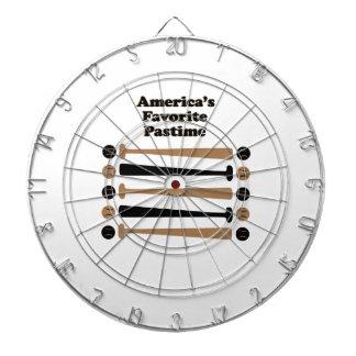 Americas Favorite Pastime Dartboard With Darts