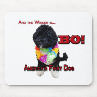 AMERICA'S FIRST DOG:  BO MOUSE MAT