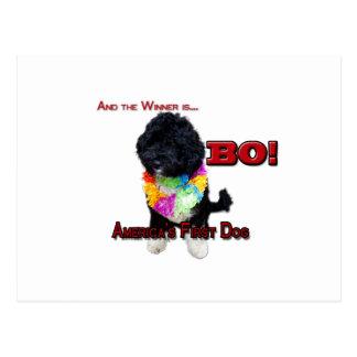AMERICA'S FIRST DOG:  BO POSTCARD
