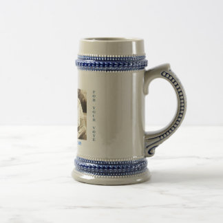 AMERICA'S FIRST FAMILY 2009 - Customized Beer Stein