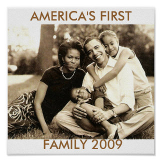 America's First Family 2009 Poster