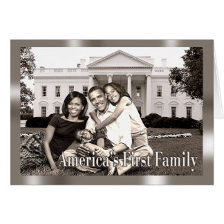 America's First Family Card