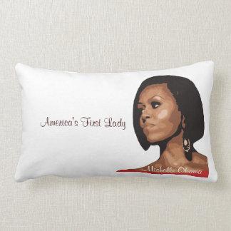 America's First Lady/America's President Lumbar Pillow