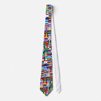 Americas Flags Necktie