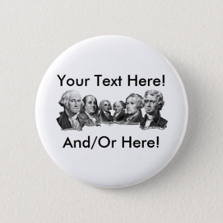 America's Founding Fathers Button