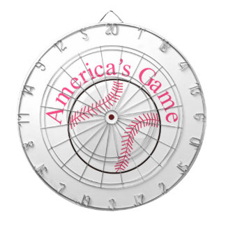 Americas Game Dartboard With Darts