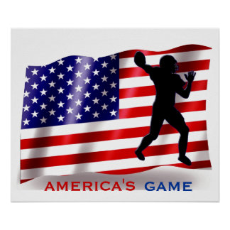AMERICA'S GAME POSTER