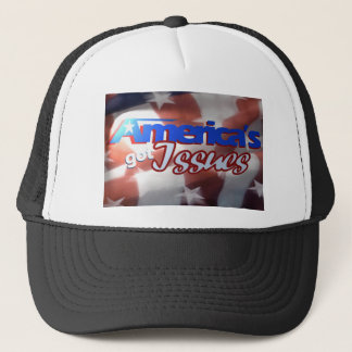America's Got Issues Trucker Hat