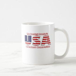 America's Greatest Generation Classic White Coffee Mug