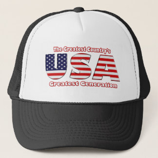 America's Greatest Generation Trucker Hat