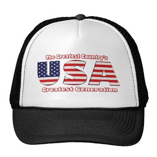 America's Greatest Generation Trucker Hat