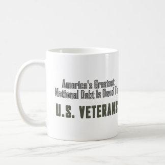 America's Greatest National Debt Owed to Veterans Classic White Coffee Mug