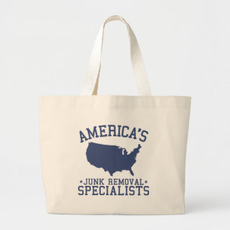 Americas Junk Removal Specialists Jumbo Tote Bag