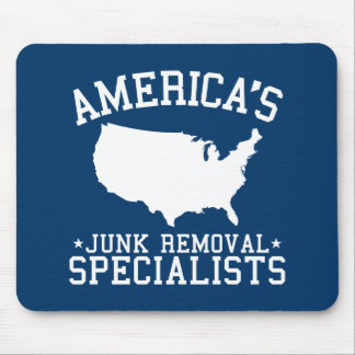 Americas Junk Removal Specialists Mouse Pad