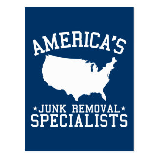 Americas Junk Removal Specialists Postcard