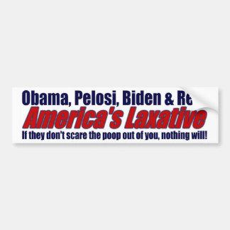 America's Laxative Bumper Sticker
